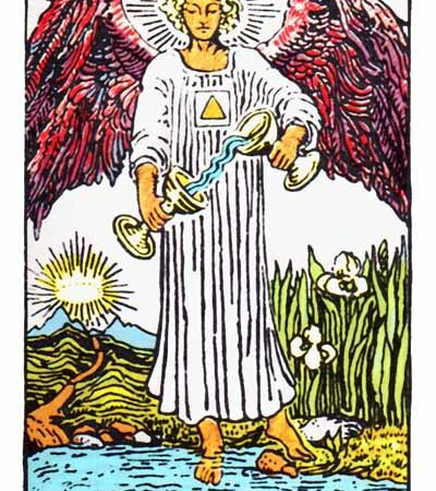 The Temperance Card