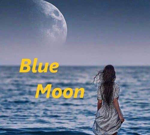 Halloween Full Blue Moon