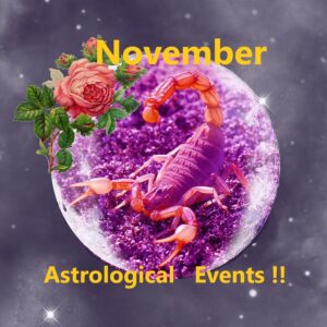2020 November - Astrological Events