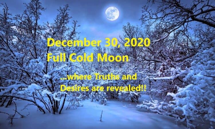 December 30 2020 Full Moon